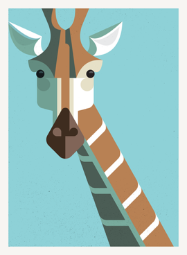 Lu Giraffe Portrait