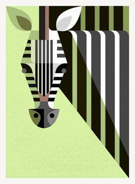 Lu Zebra Portrait