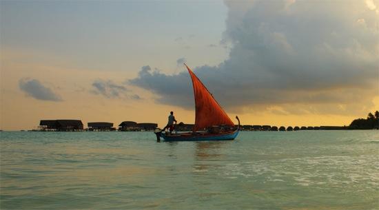 Cocoa home boat